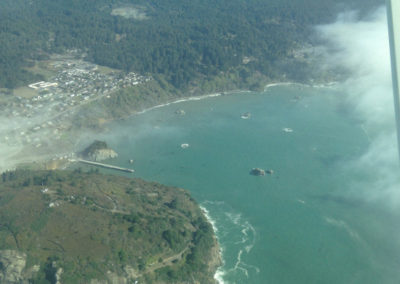 Humboldt Co-Chair Hosts Aerial Tour of North Coast MPAs
