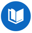 Book icon representing outreach and education