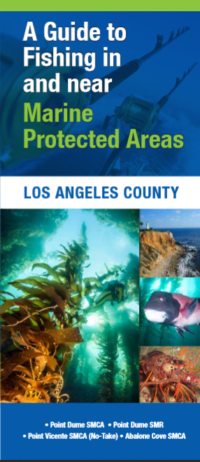 cover of the LA County MPA Fishing Guide