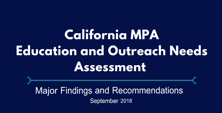 New Report Identifies Gaps in MPA Outreach and Education in California
