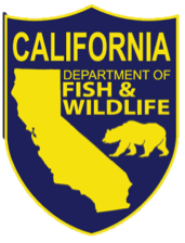 California Department of Fish and Wildlife shield logo