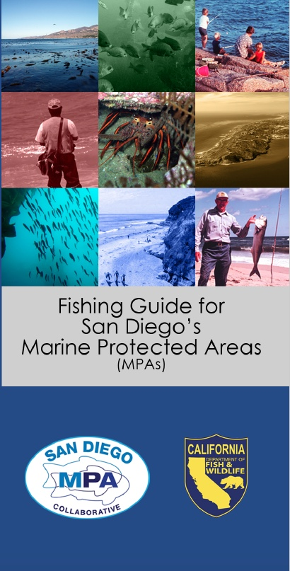 Fishing Guide for San Diego's MPAs Brochure