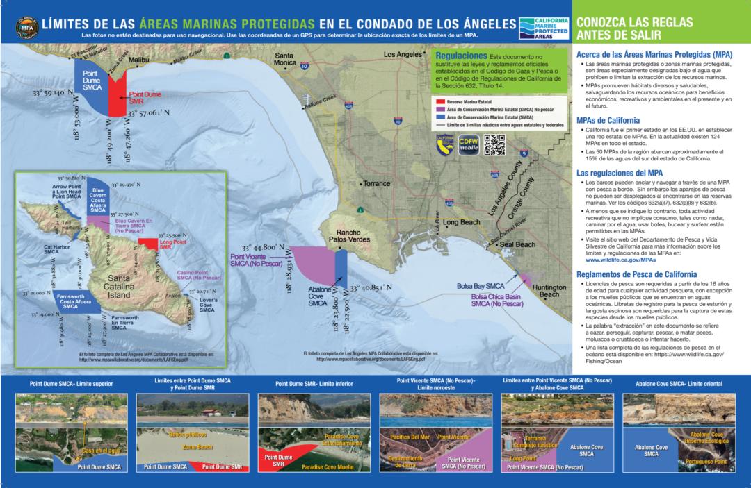 LA County MPAs Poster (Spanish)