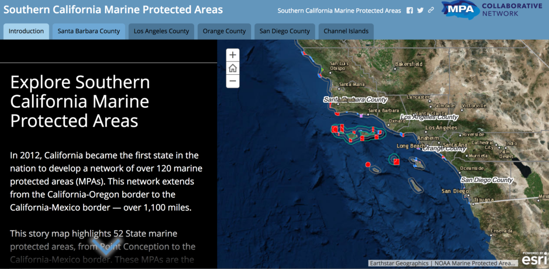 MPA Online Interactive Map