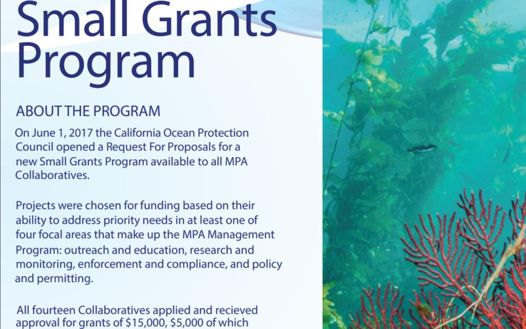 Small Grants Program – Summary Document