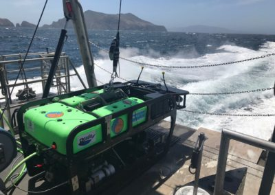 MARE's Beagle ROV used for deep sea monitoring up to 1000 meter depth