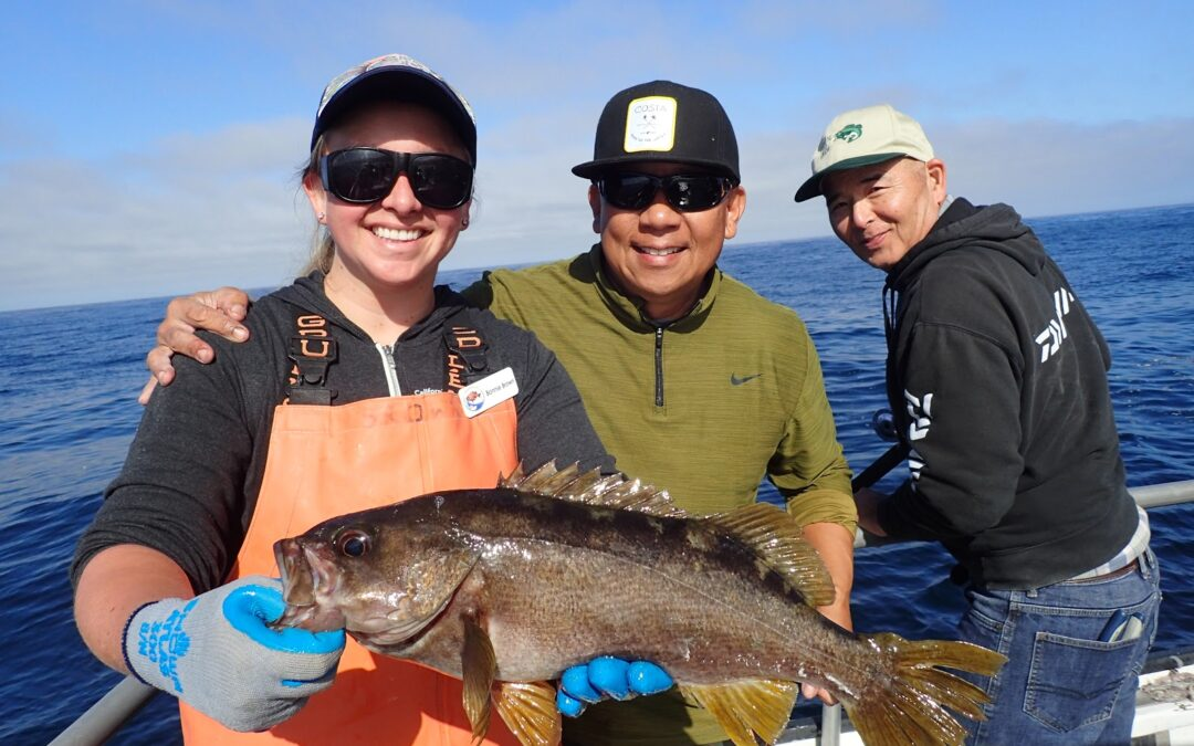 MPA update: Sport anglers reel in fisheries data
