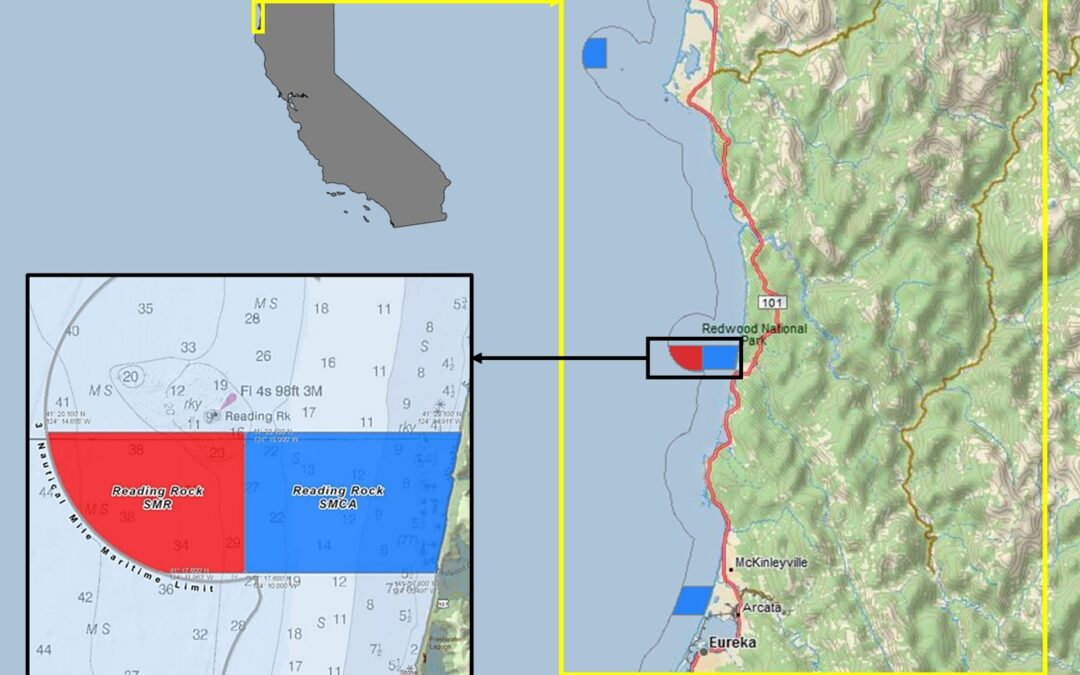 Exploring California's Marine Protected Areas: Reading Rock State Marine Conservation Area and Reading Rock State Marine Reserve