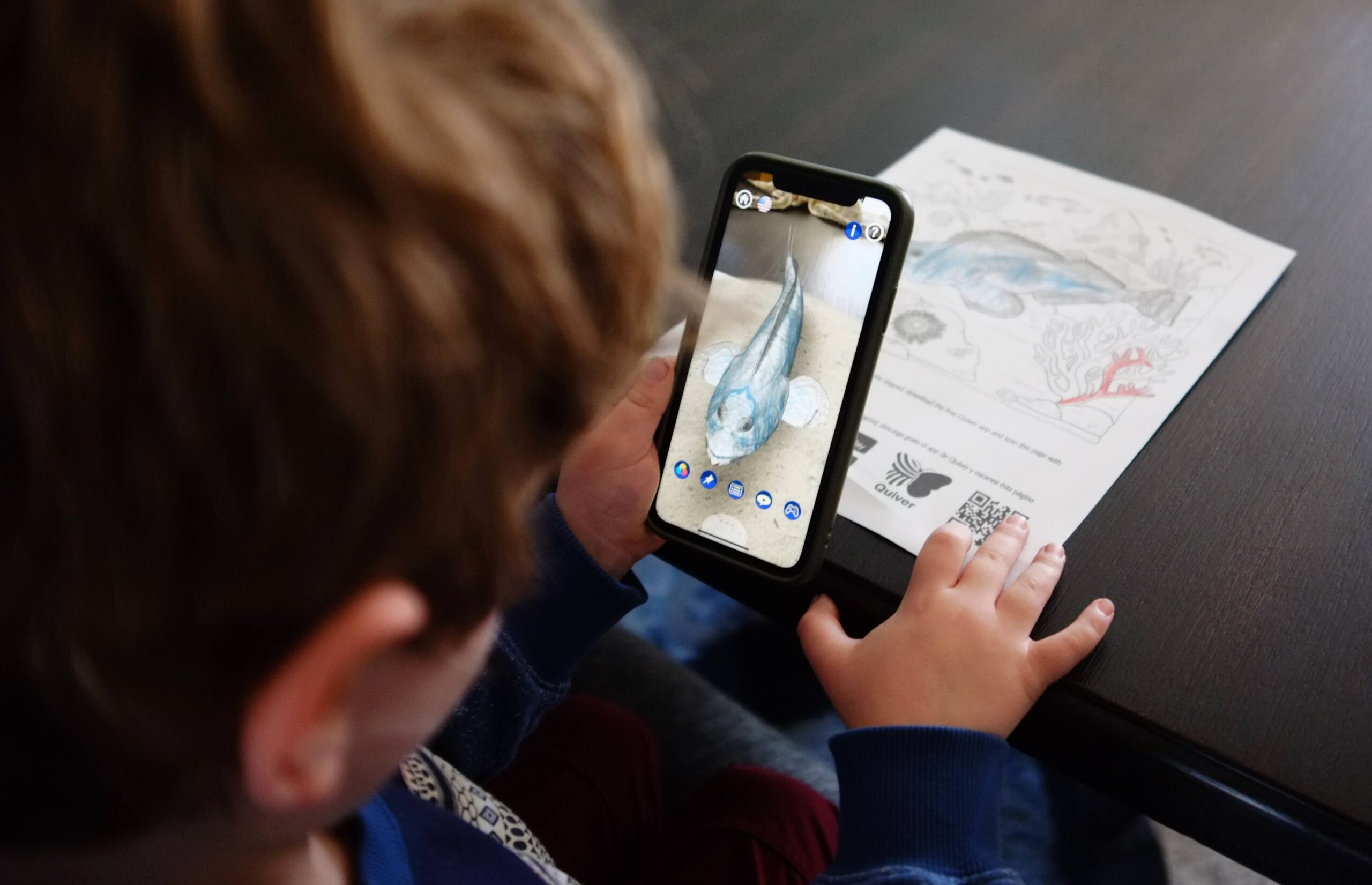 Bring MPAs to life with bilingual coloring and activity books featuring augmented reality experiences