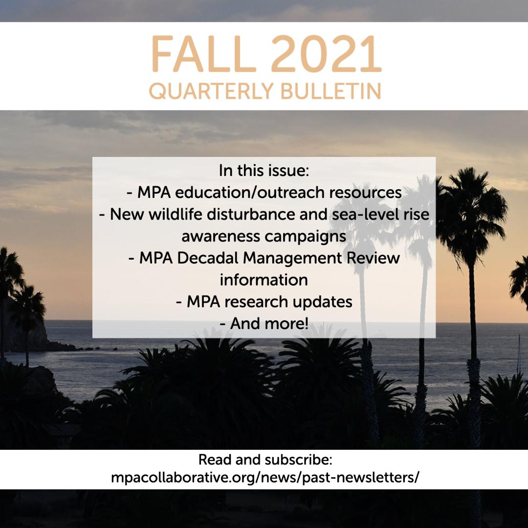 MPA Collaborative Network Fall 2021 Newsletter